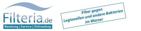 Filteria.de - Filter gegen Legionellen, E. coli, Pseudomonaden und andere schädliche Bakterien im Leitungswasser | Beratung - Service - Onlineshop