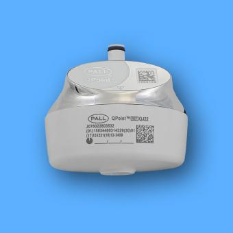 Pall QPoint Andockstation QDTC für Waschbecken, verchromt, für Sterilfilterkapsulen