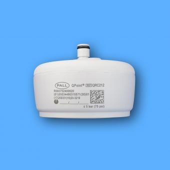 Pall QPoint Wassersterilfilter QRC212, mit Brauseauslauf für Schnellkupplung,Standzeit 62 Tag