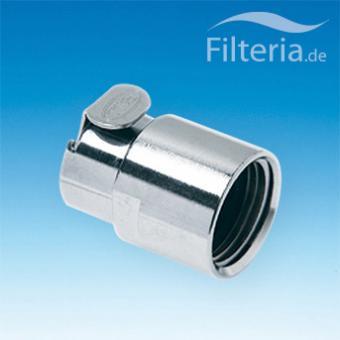 Waschbeckenfilter-Schnellkupplung 1/2 Zoll, Innengewinde, mit Wasserstopp, TAP1/2FV