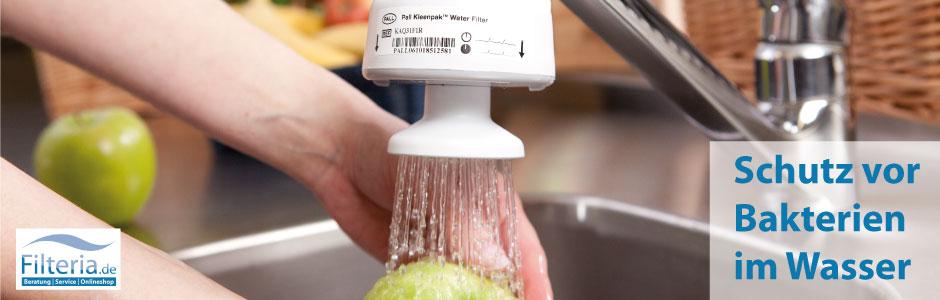 Schutz vor Bakterien im Wasser